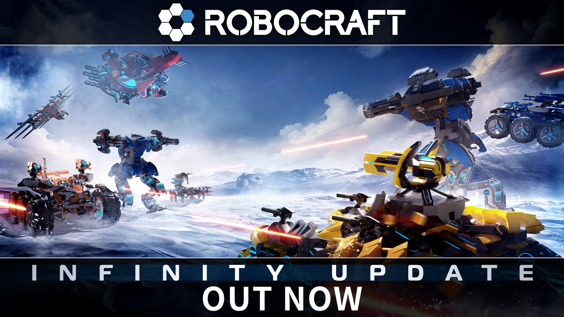 Robocraft is a competitive multiplayer shooter in which players build their own.